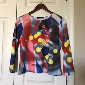 Mechant Medium Retro Punk 70's Top